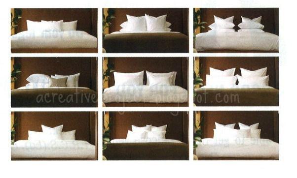 Arrange Decorative Toss Pillows on Bed