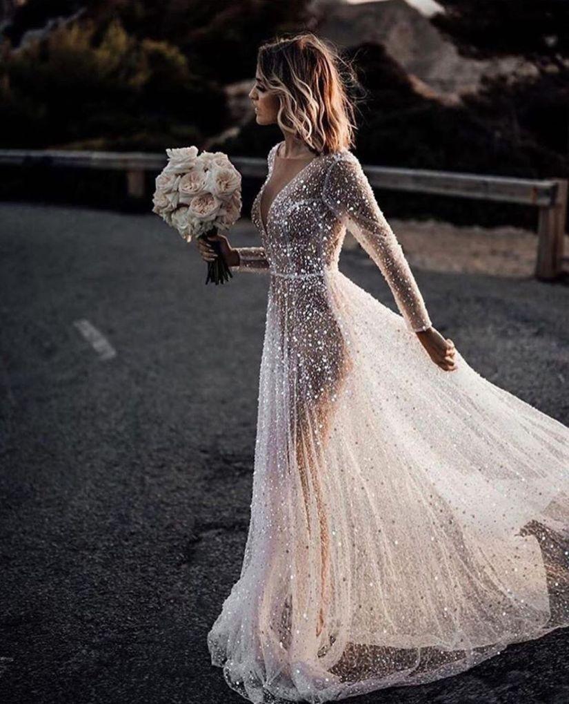 32+ See through wedding dress info