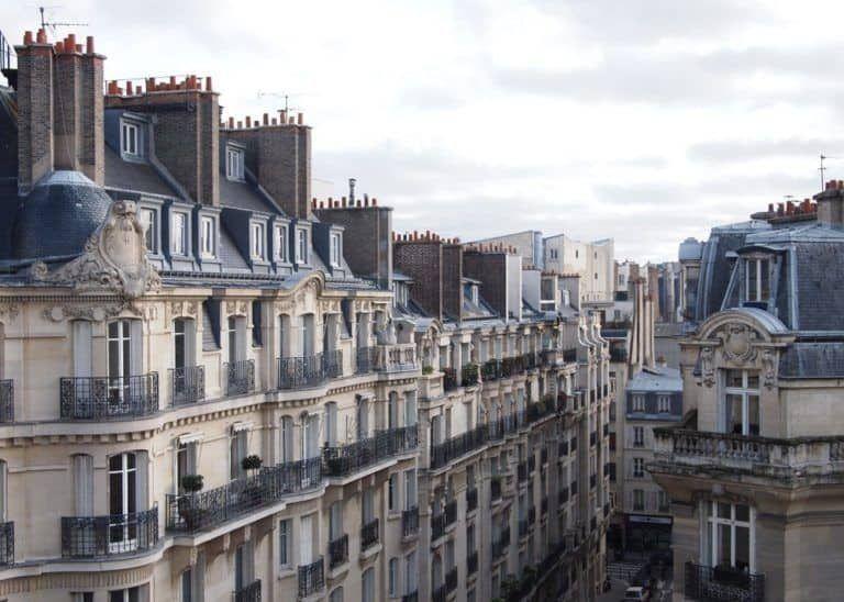 row of houses in Paris 17th arrondissement | Paris travel, Paris ...