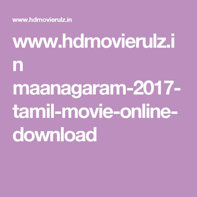 maanagaram 2017 tamil movie online