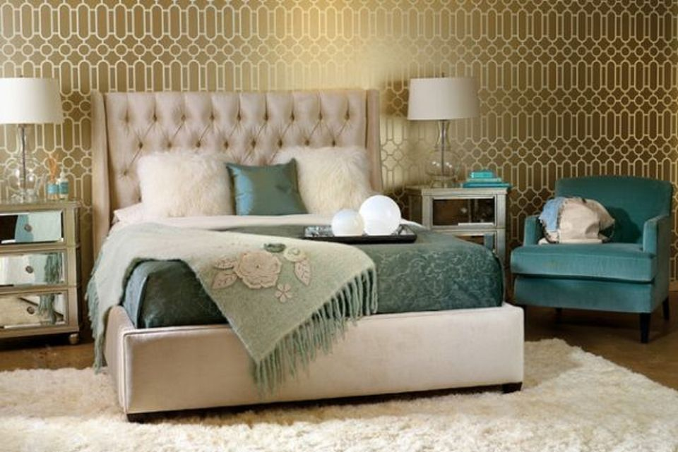 25 Glamorous Hollywood Regency Bedrooms Done Right Mit Bildern