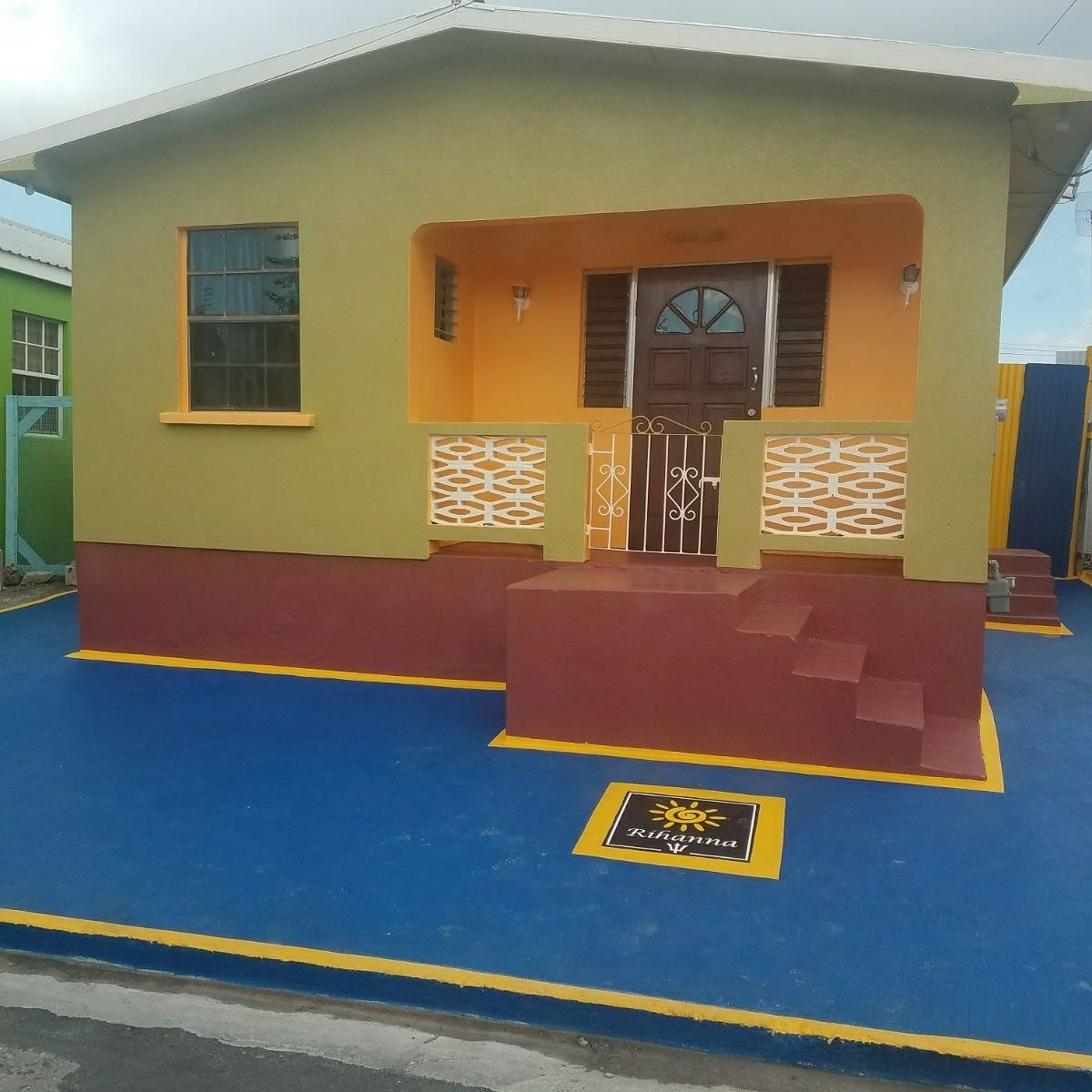 Rihannau0027s childhood home in St Michaelu0027s Parish