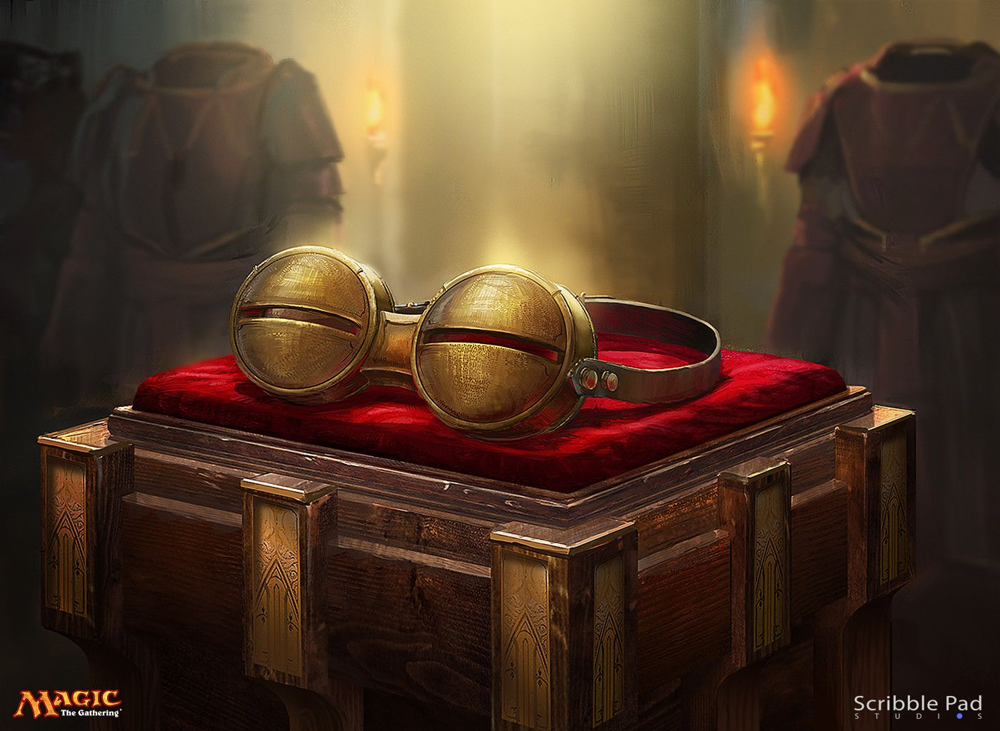 Magic the Gathering Pyromancer's Goggles, Scribble Pad