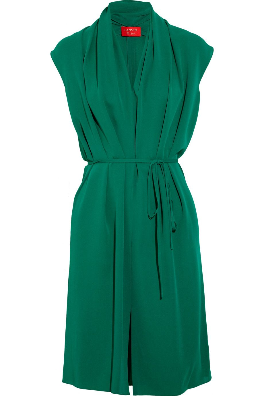 LANVIN  Draped silk dress - this would be an awesome dress for Arbonne's GTC!