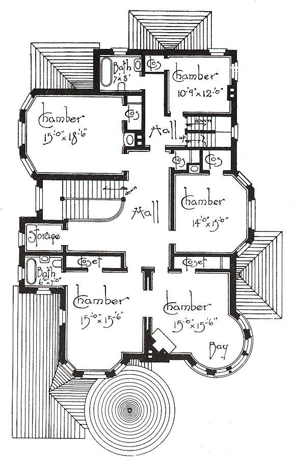 PLAN#152)----- George F. Barber homes | | Floor Plans | Pinterest ...