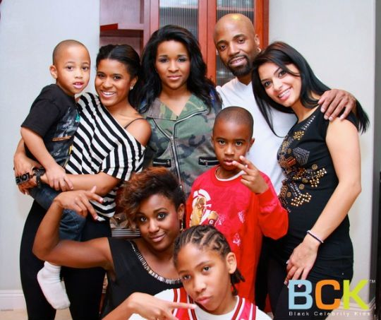 One Big Happy Family Looks That Way Musician Teddy Riley Is