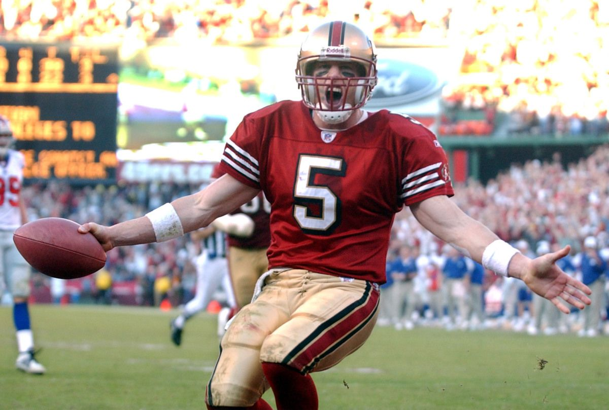 Jeff Garcia 49ers Quarterback Jeff Garcia 49ers Football
