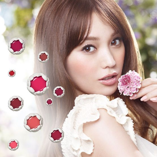 SHISEIDO Benefique Melty touch lipstick 2014SS