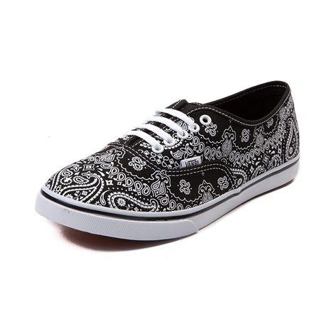 Vans Authentic Lo Pro Bandana Skate Shoe  adeaeee09d