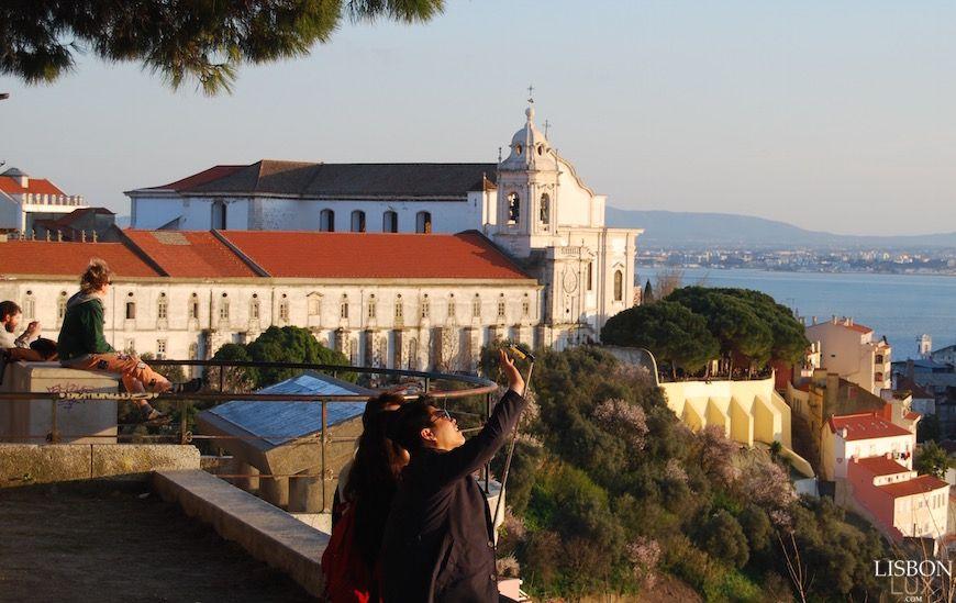 Miradouro Da Senhora Do Monte Lisboa Lisboa Senhor Montinho