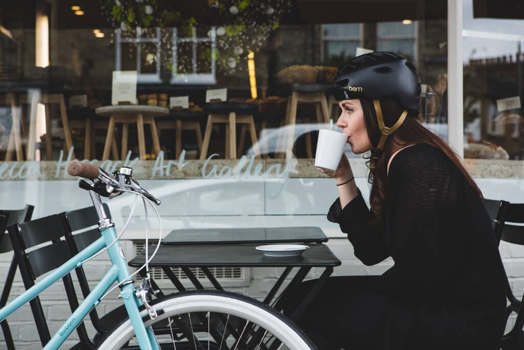 Berns Stylish Women-Specific Melrose Helmet  Fahrradhelm -5683