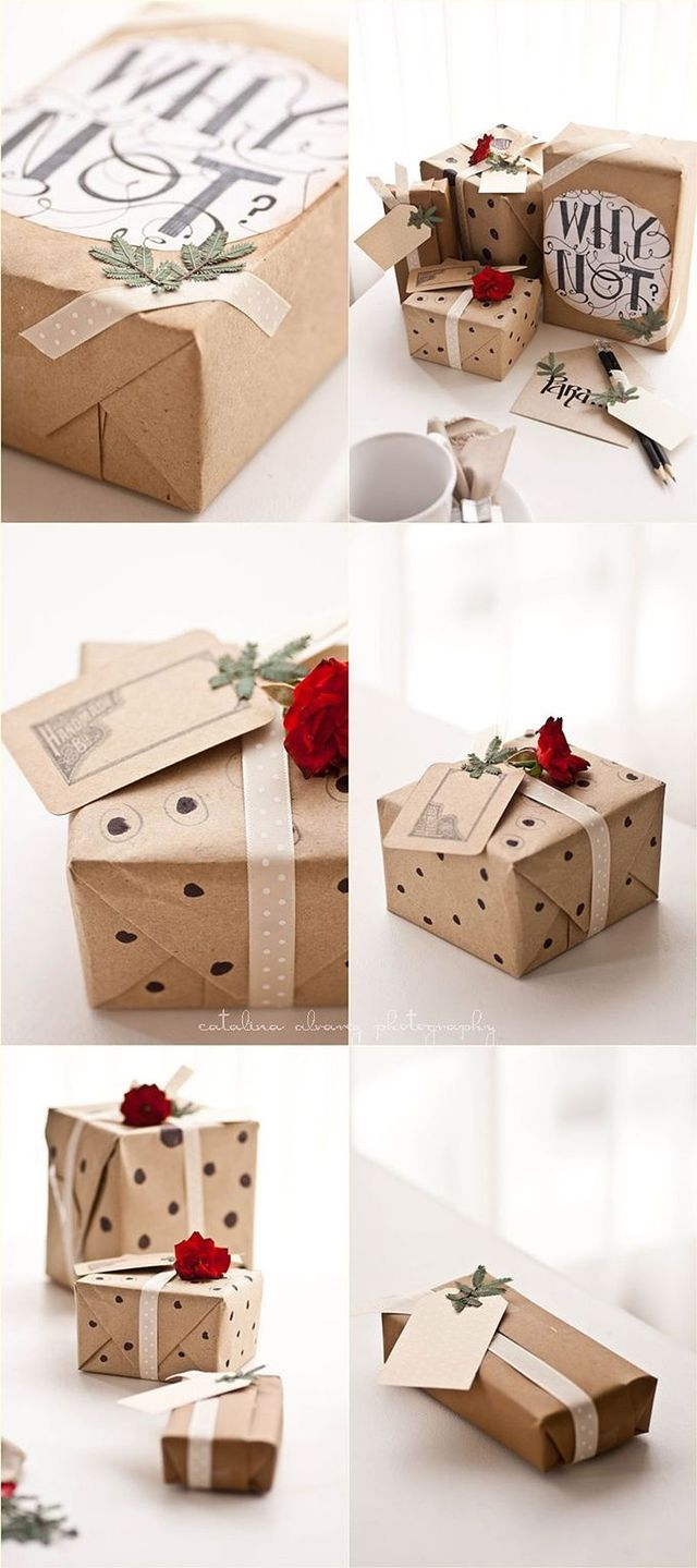Comment Emballer Un Cadeau : comment, emballer, cadeau, Comment, Emballer, Soi-même, Cadeaux, Noël, Emballage, Cadeau, Original,, Papier