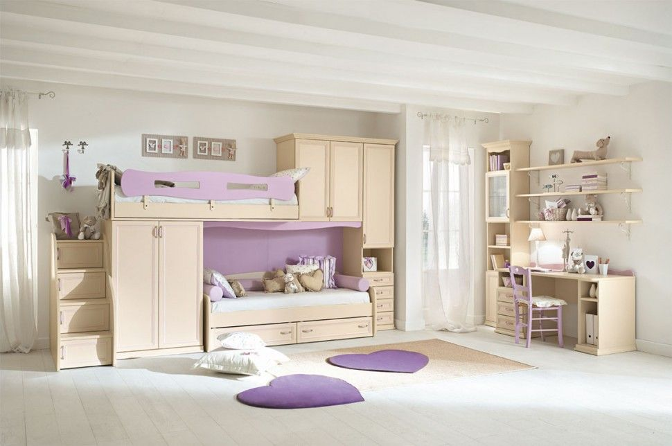 Camerette effedue ~ Camerette arcadia armadio per bambini finitura magnolia e