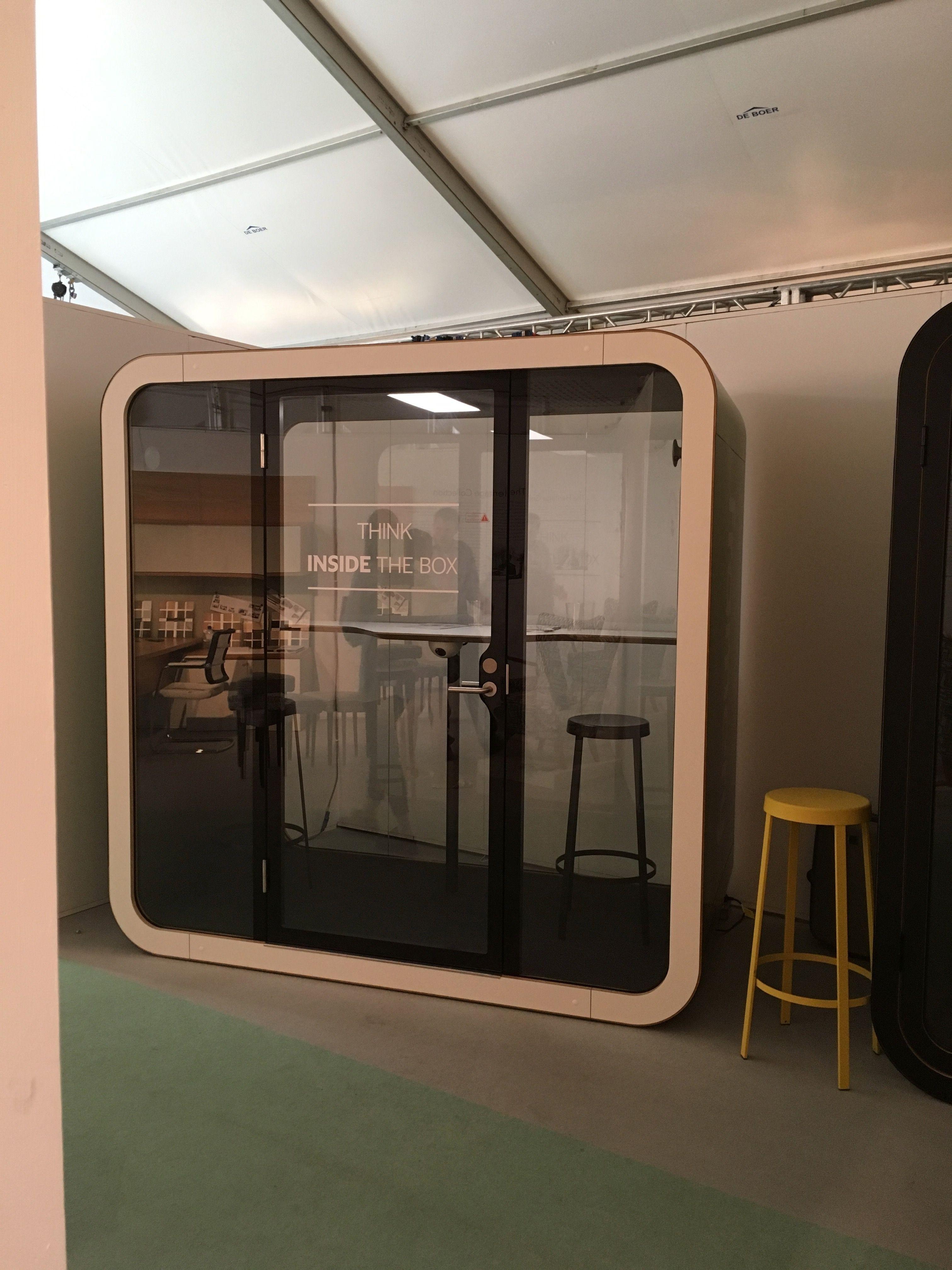Framery Q Booth at Clerkenwell Design Week 2017 #CDW2017  #clerkenwelldesignweek #design #designinspiration