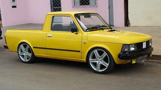 Fiat 147 Pikap Brezilya Com Imagens Carros E Caminhoes Carros