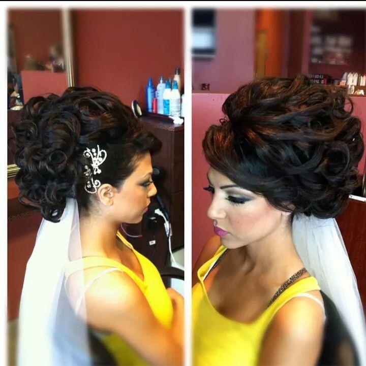 Peinado novia gitana