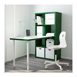kallax tafelcombinatie wit blauw 77x147 cm scheidingswand dressoir en eenvoudig. Black Bedroom Furniture Sets. Home Design Ideas