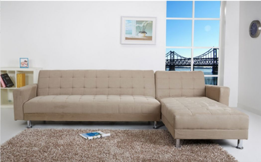 sectional sofas with sleepers for small spaces - modern interior