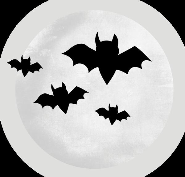 Large Transparent Moon With Bats Halloween Clipart Halloween Halloween Cartoons Bilder