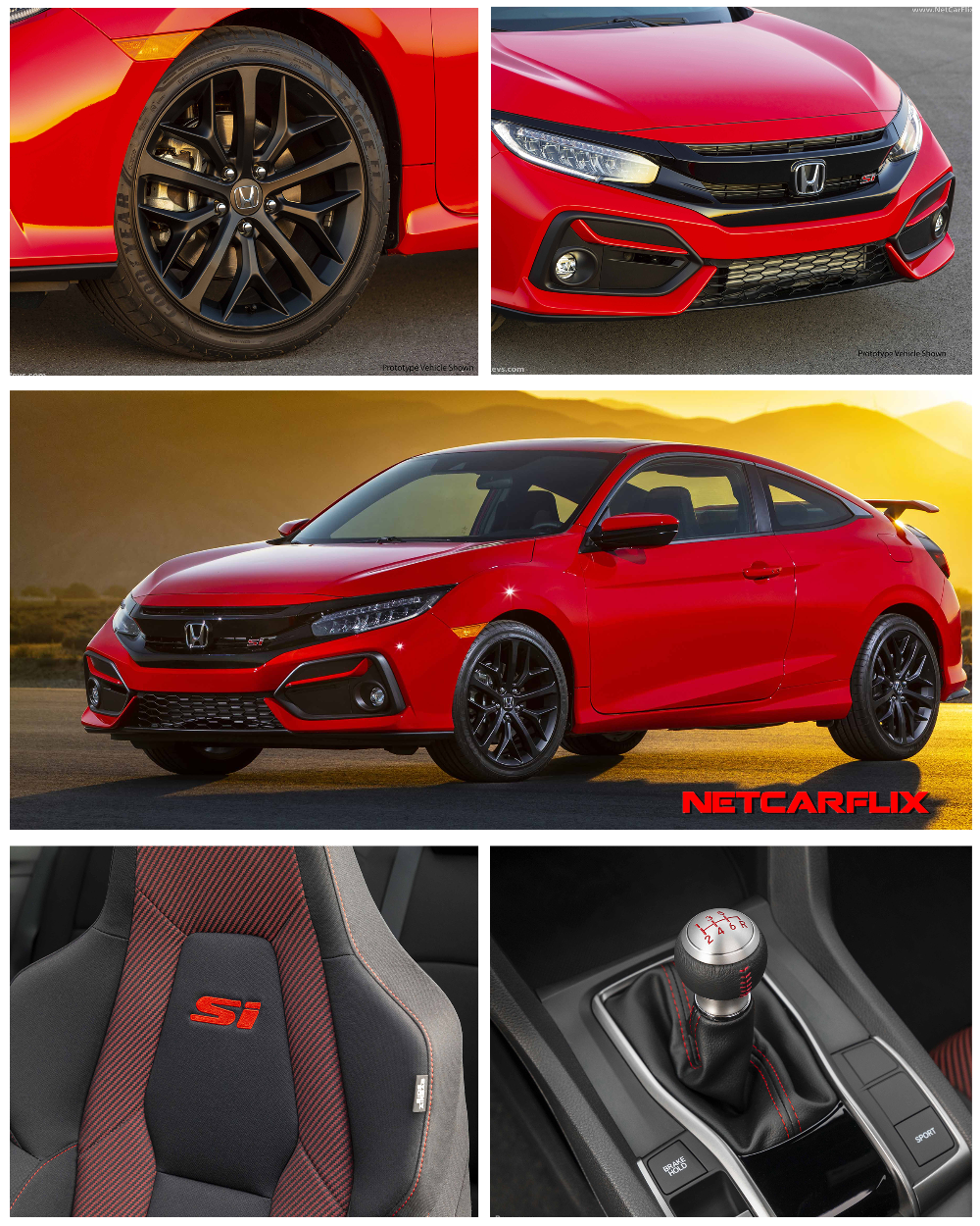 2020 Honda Civic Si Coupe HD Pictures, Videos, Specs