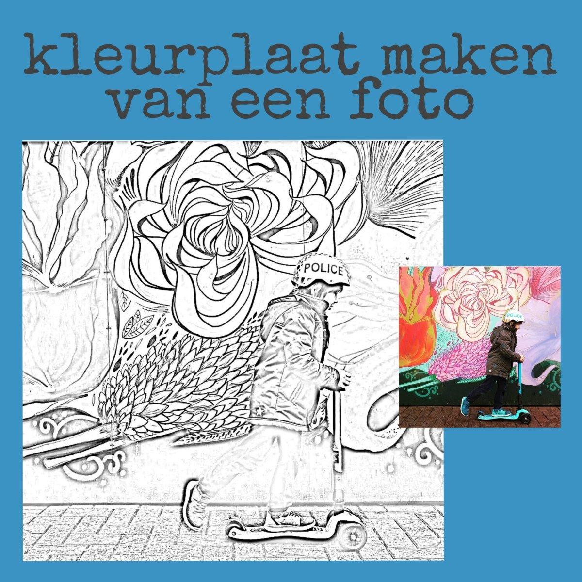 Een Kleurplaat Maken Van Een Foto Leuk Met Kids In 2020 Kleurplaten Mandala Kleurplaten Kleurplaten Voor Kinderen