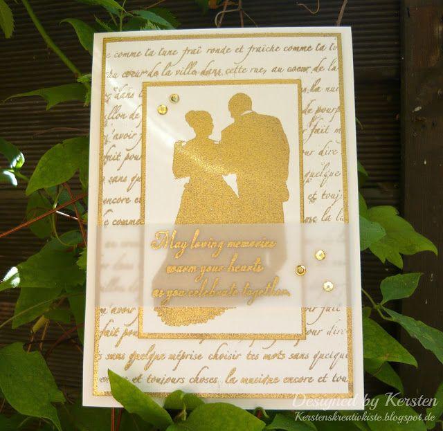 Kersten's Kreativkiste: Goldene Hochzeit