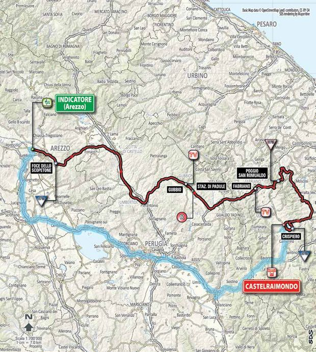 2015 Tirreno Adriatico Stage 4 Preview....... March 13, 2015