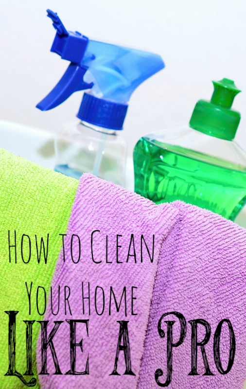 How To Clean Your Home Like A Professional. | Results Home Buyers | 618