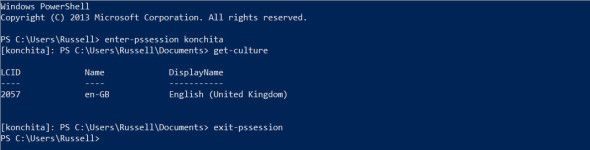 Connect to Windows 8 Remotely Using PowerShell