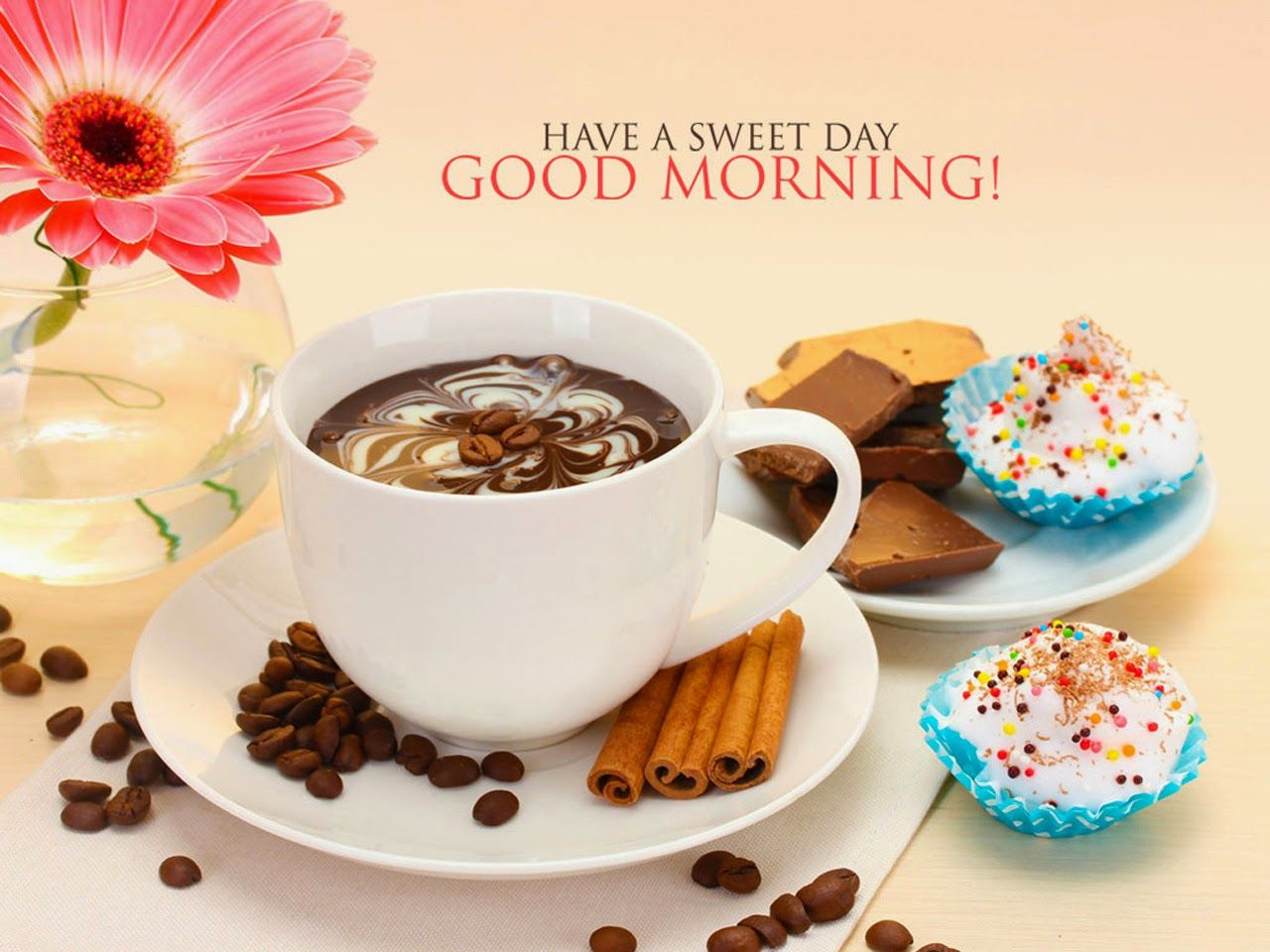 Image result for morning flower and coffee | Good morning coffee, Good  morning wallpaper, Latest good morning images