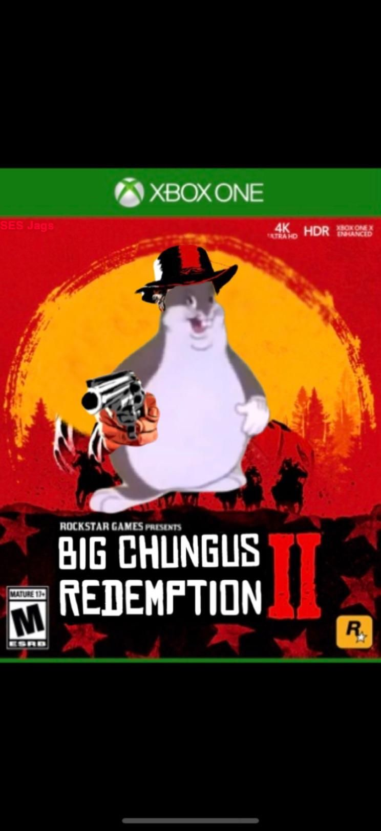 Big Chungus Redemption 2 Get More Gifs Funny Funnymemes Humor