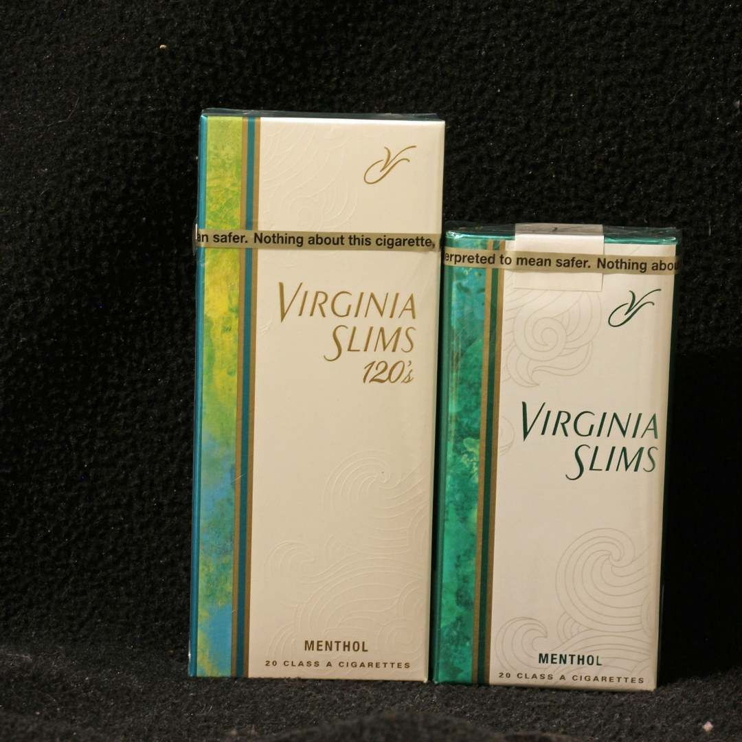 Virginia Slims 120s Menthol Gold Compared To Virginia Slims Menthol