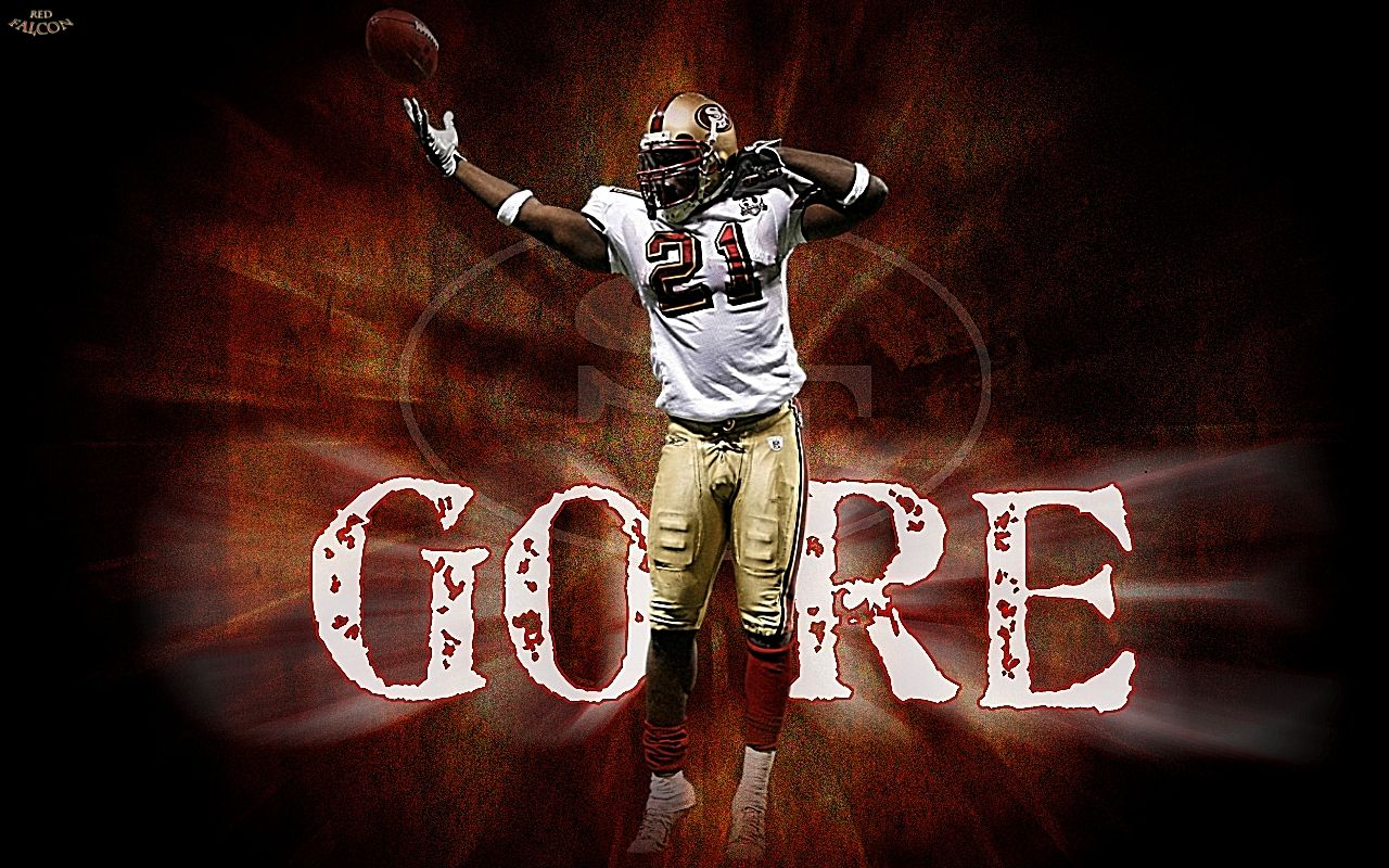 Frank Gore Sports...Love those 49er's! Pinterest