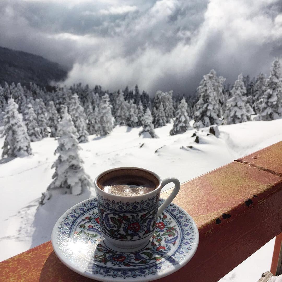Кофе зима картинка