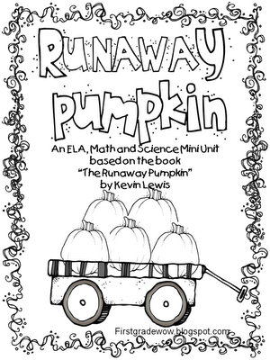 10/19/2012 The Runaway Pumpkin by Kevin Lewis First Grade