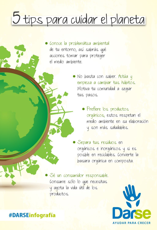 Darseinfografia Contribuye Consejos Cuidado Planeta Sigue