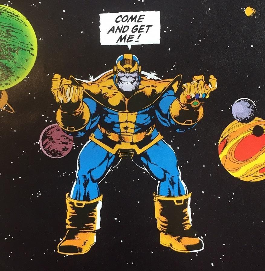 Classic Thanos Classic Comics Comics Marvel