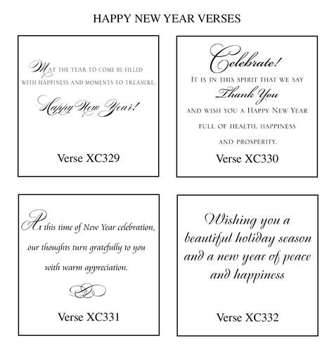 New Years Verses | Card Quotes | Pinterest | Verses, Card sentiments ...