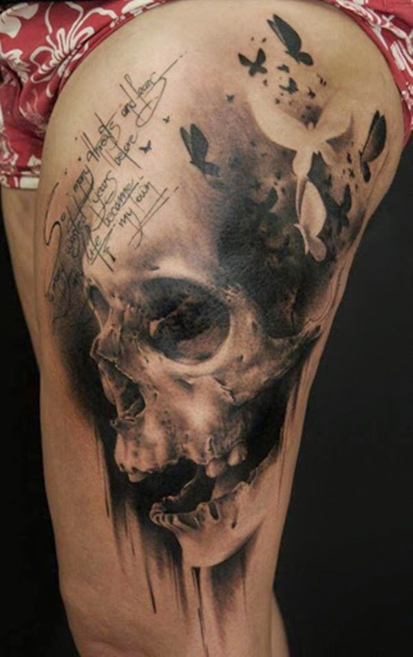 40 Interesting Skull Tattoo Designs for you 7