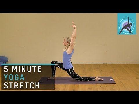 5 minute yoga stretch with esther ekhart  youtube  5