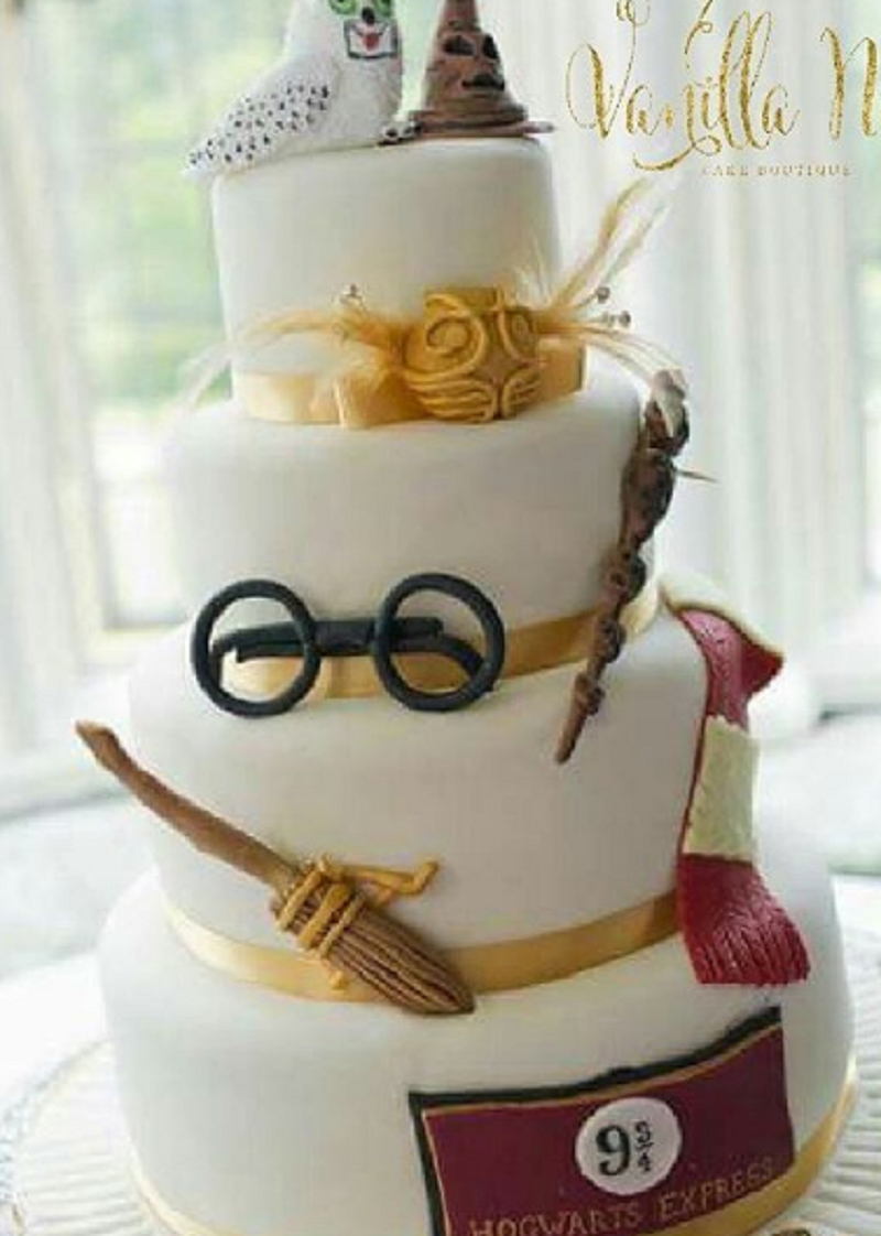 These Harry Potter wedding cakes are going to make you want to say ...