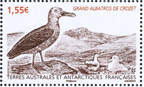 Wandering Albatross stamps - mainly images - gallery format