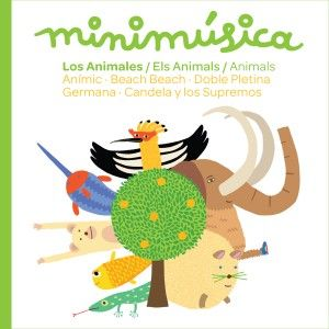 minimúsica - Els animals / Los animales / Animals (CD) - Sones
