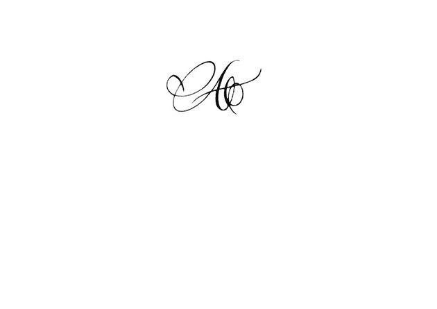 Calligraphie Tatouage Lettre A Tatouage Tattoos Et Ink