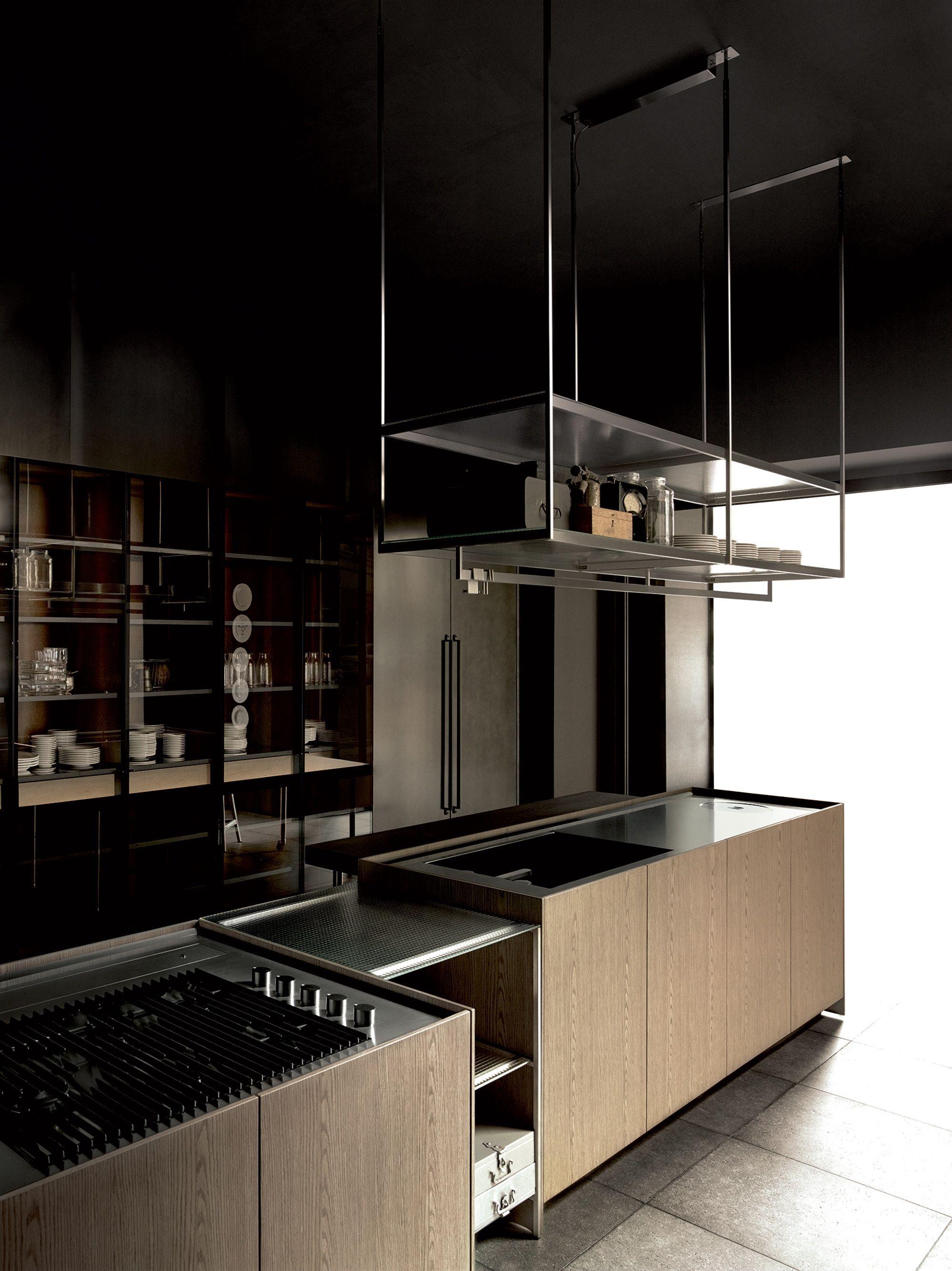 Boffi   Combine Kitchen / by Piero Lissoni / Ph. Tommaso Sartori   Traditional kitchen island ...