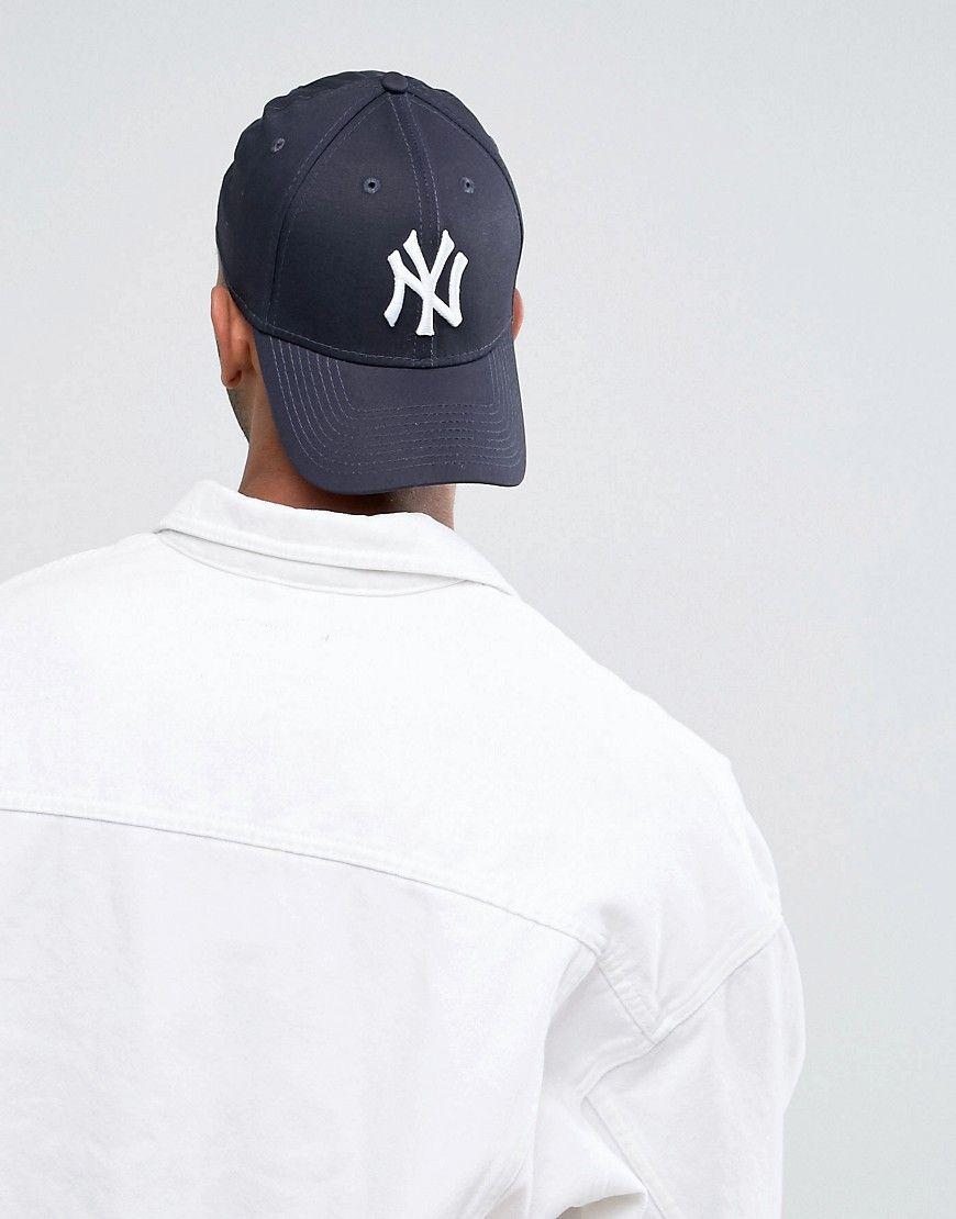 New Era 39thirty New York Yankees Cap Blue New Era 39thirty New Era Cap Hats For Men