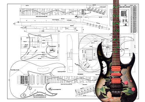 wiring diagram for ibanez jem diagram download free printable wiring rh pinterest com