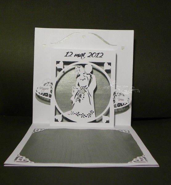 mariage and kirigami on pinterest - Faire Part Mariage Kirigami
