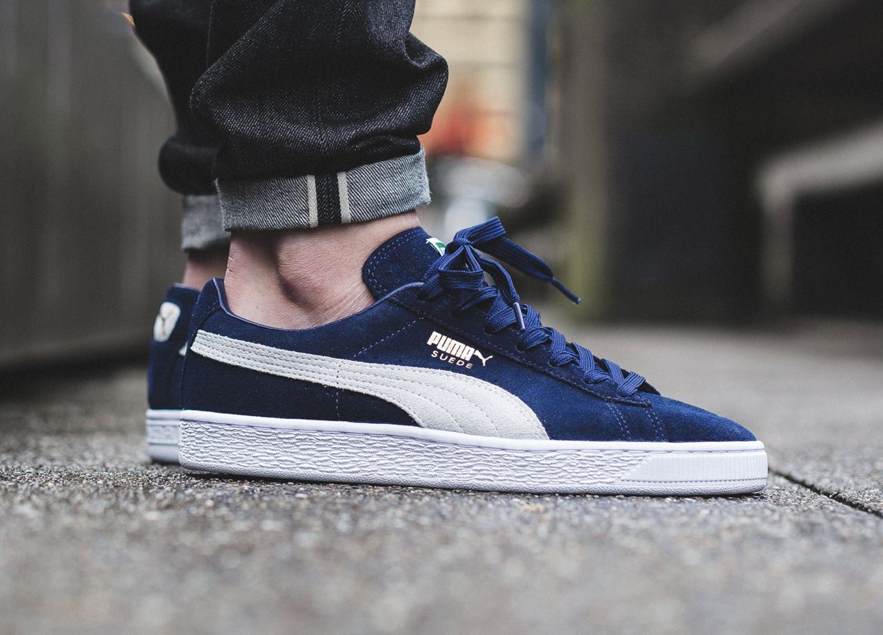online store 3c9ce 86f47 Puma Suede Classic - Peacoat White (by titolo) Buy from Sneakersnstuff    Sneakerbaas   eBay   Sneakers