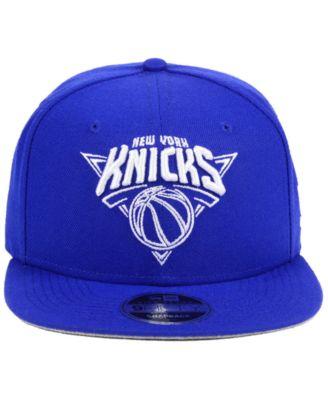 cc2fe180970 New Era New York Knicks Logo Trace 9FIFTY Snapback Cap - Black Adjustable